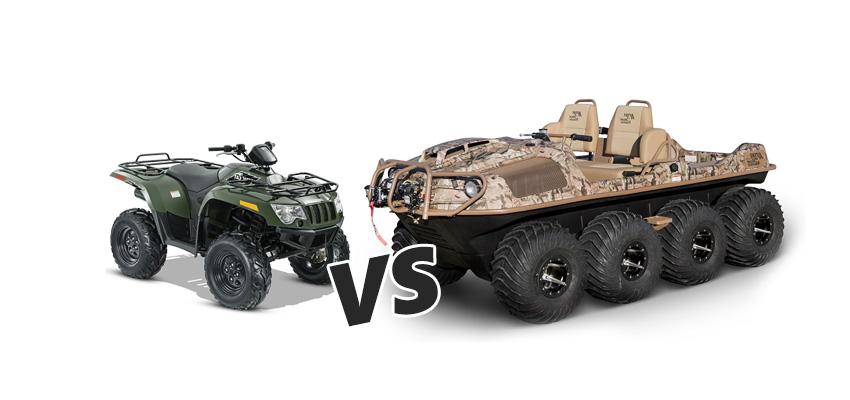 ATV vs ARGO XTV - Shank's Argo