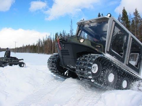 XTV vs. Snowmobile