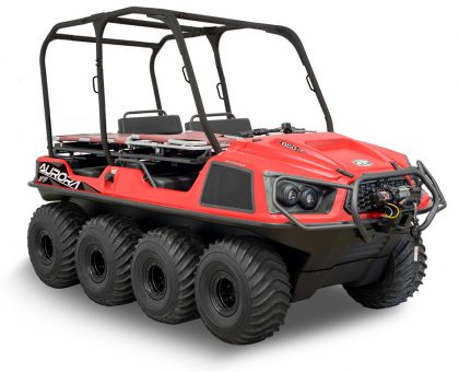 Argo Aurora 850 SX-R 8x8 Responder Red