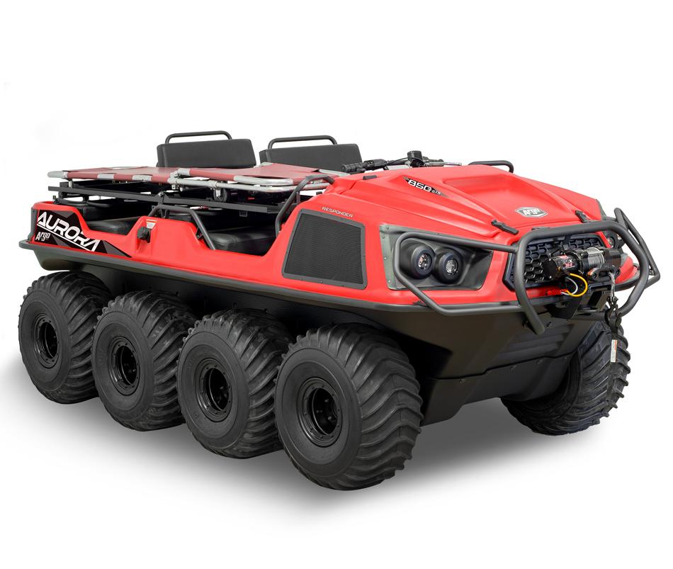 Argo Aurora SX Responder 8x8 Red