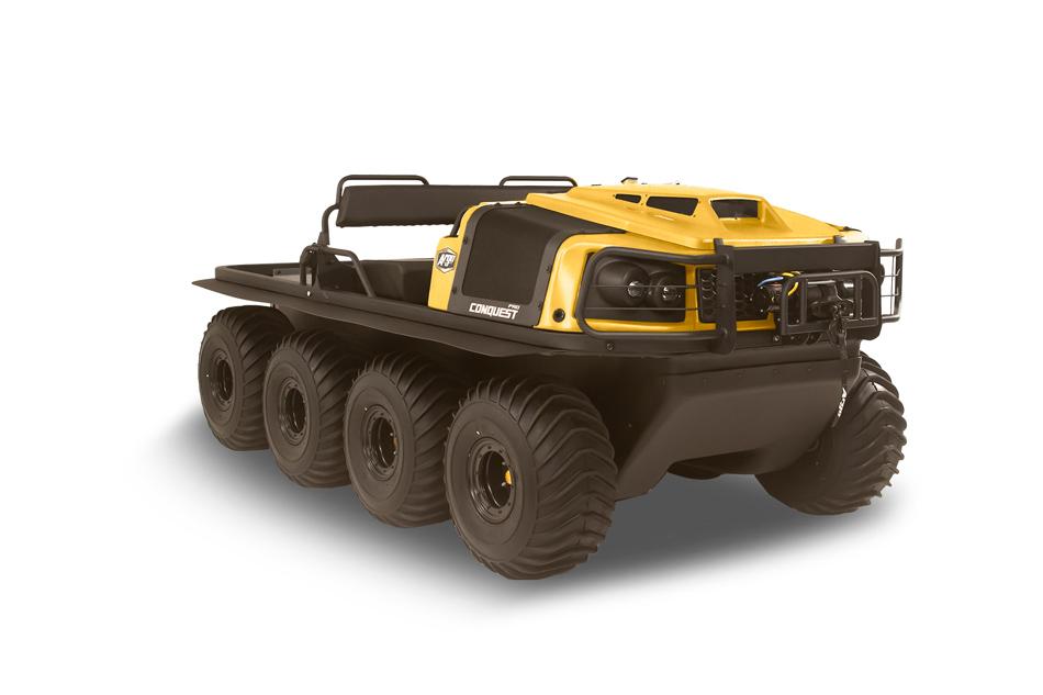 Argo Conquest Pro 800 XT 8x8 Yellow