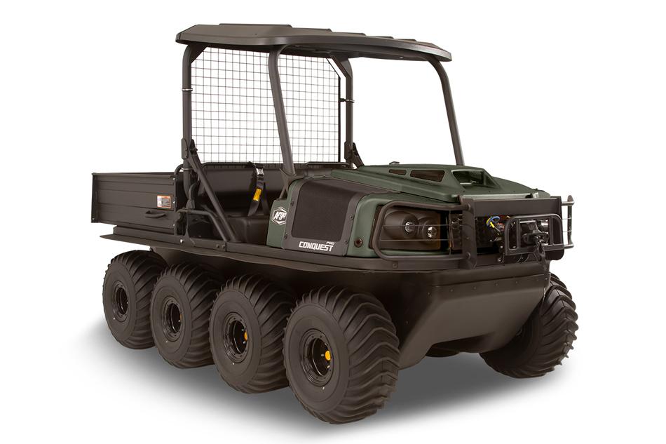Argo Conquest Pro XT-X 8x8 Green