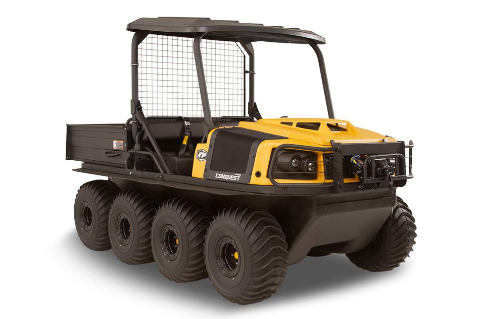 Argo Conquest Pro 950 XT-X 8x8 Yellow