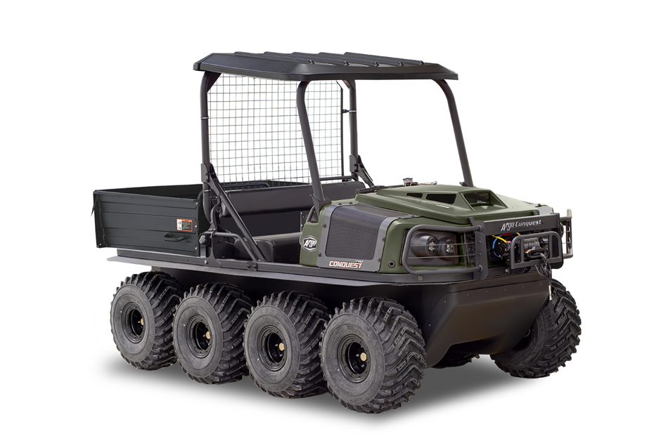Argo Conquest Pro 800 XT-X 8x8 Green