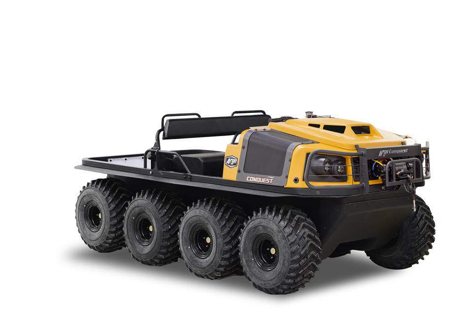 Argo Conquest Pro 800 XT Yellow