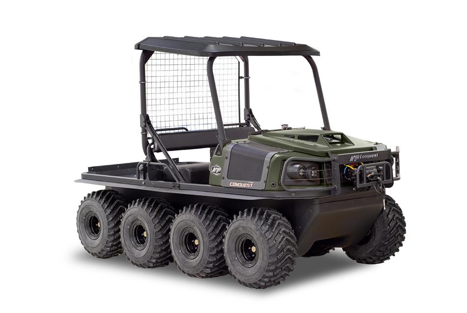 Argo Conquest Pro 950 XT-L 8x8 Green