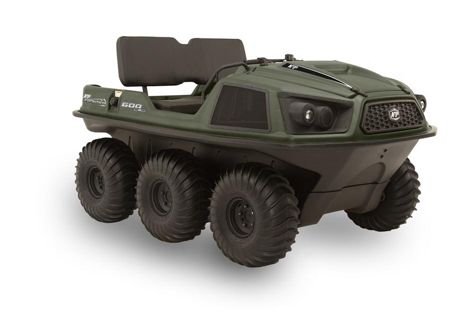 Argo Frontier 600 6x6 Green