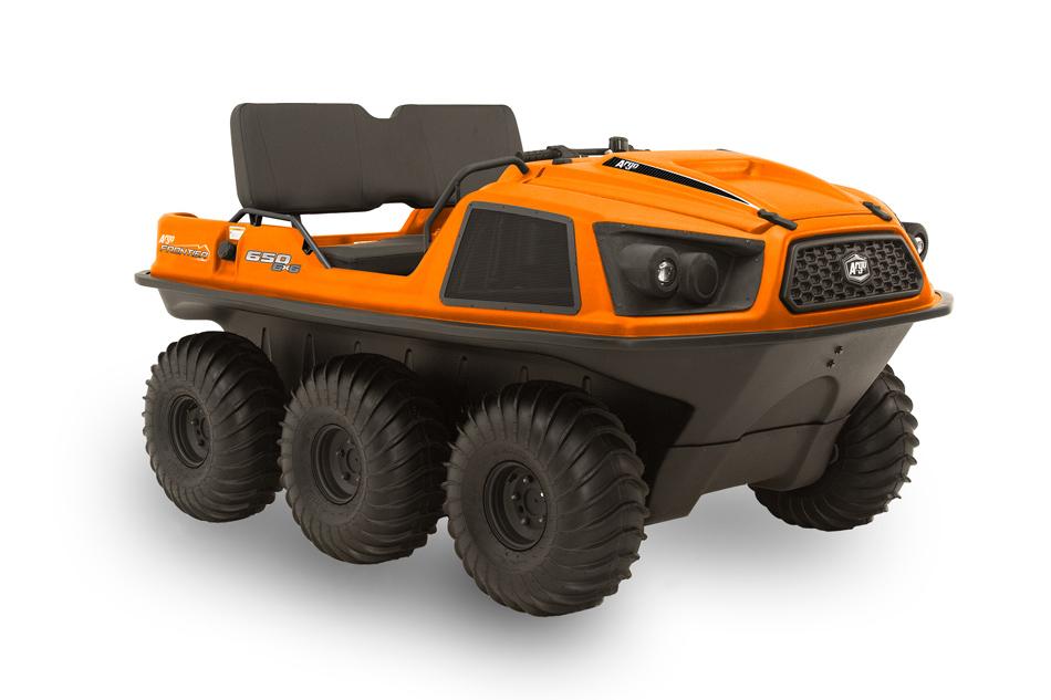 Argo Frontier 650 6x6 Orange