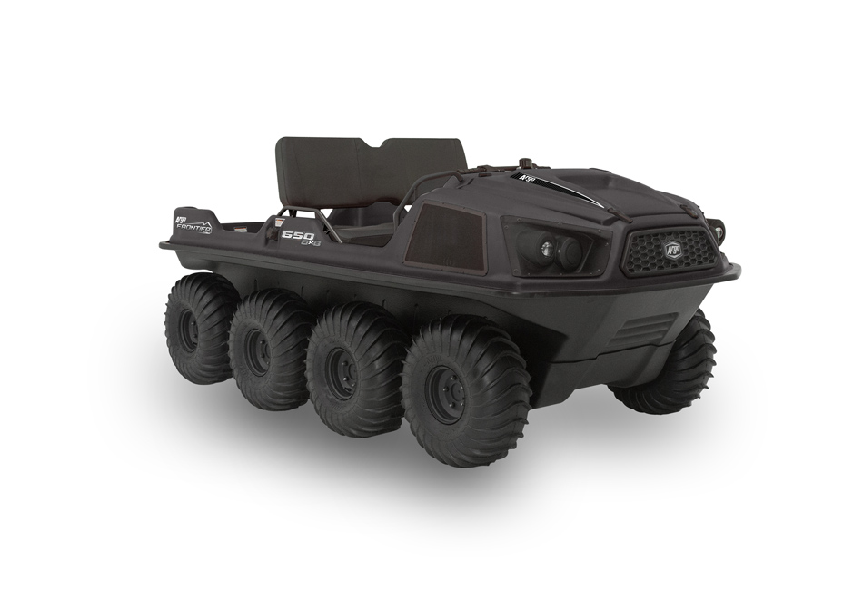 Argo Frontier 650 8x8 Black